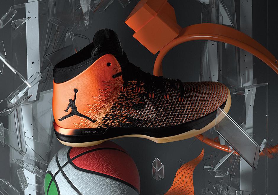 "new style fb114 22de1 Michael Jordan s soaring, glass-shattering slam in 1985 is the inspiration  for the next flagship Air Jordan release. The ""Shattered Backboard"" Air  Jordan 31 ..."