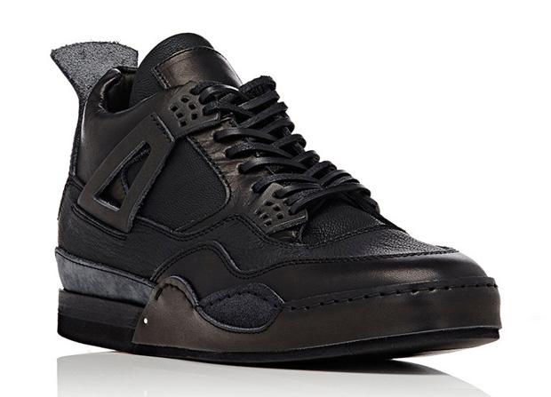 all leather jordan 4