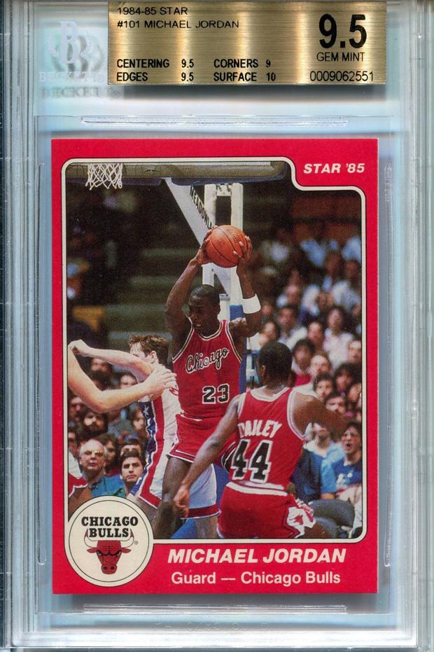 Jordan Rookie Card Goes For Almost 165000 Air Jordans