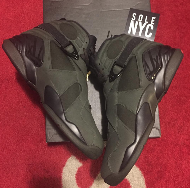 outlet store b107a ba597 First Look At Air Jordan 8