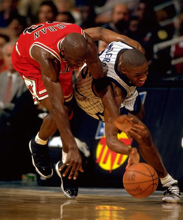 outlet store 90c6f c6501 Flashback Friday: Michael Jordan Wears Air Jordan 11 Space ...