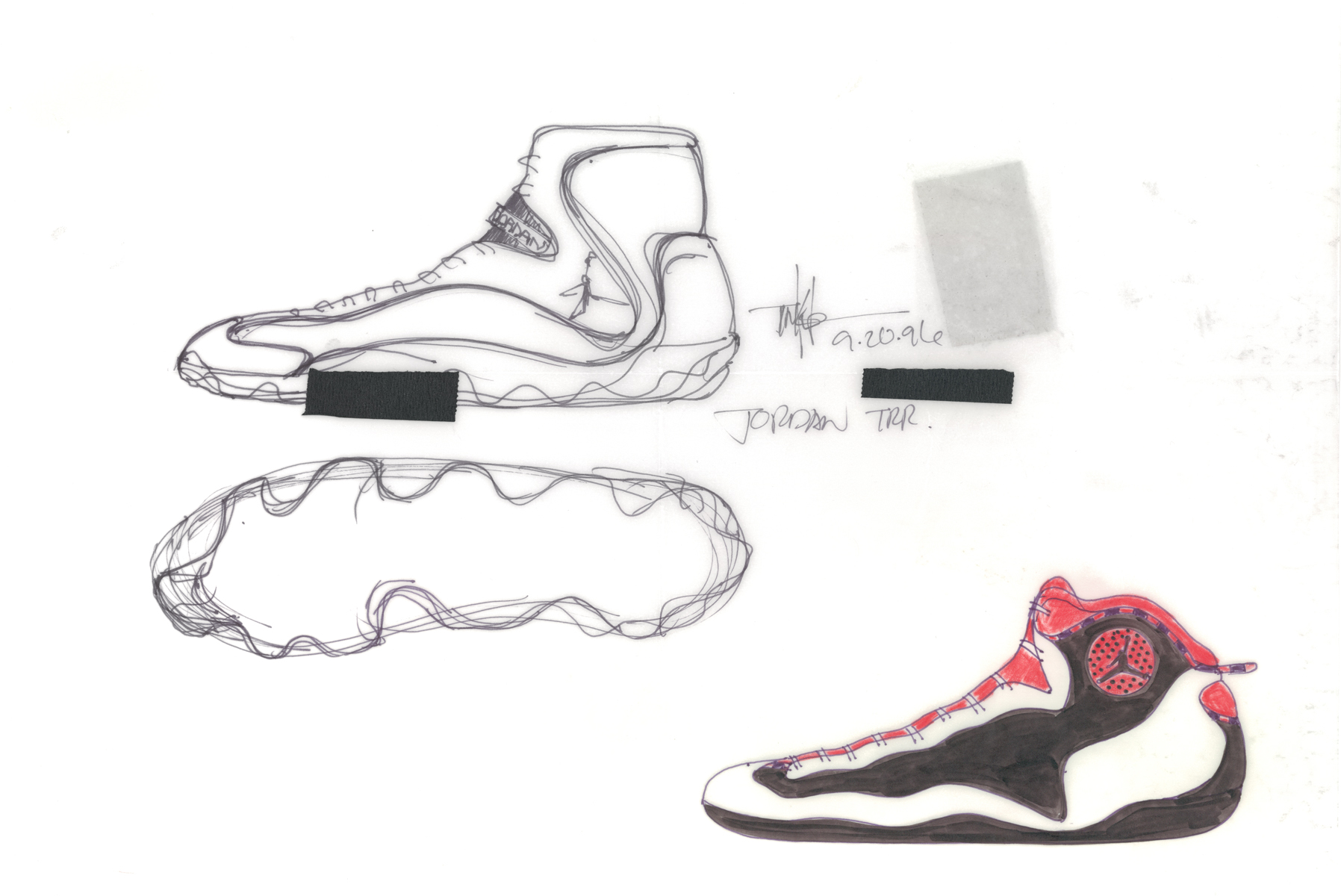 detailed look 82c7a 55250 Tinker Hatfield Reveals The Story Behind Air Jordan 13 - Air ...