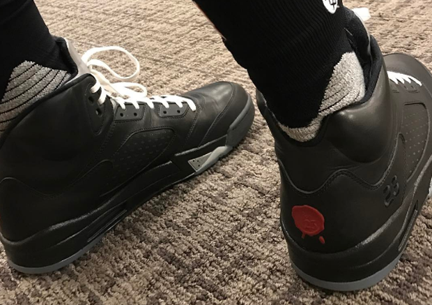 P.J. Tucker Breaks Out Air Jordan 5