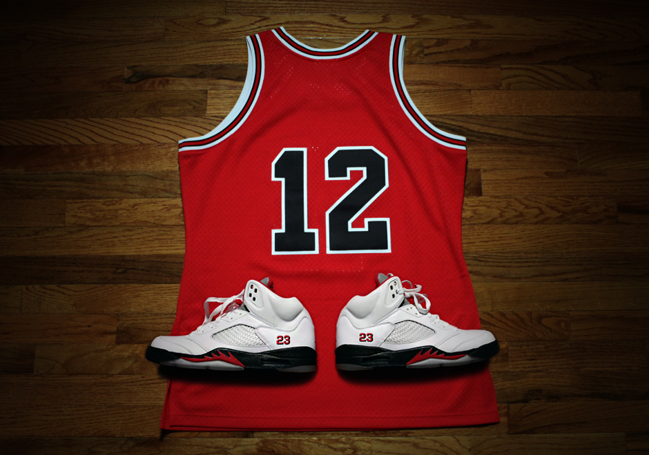 61e9227f39207 Mitchell & Ness Releases Rare Michael Jordan #12 Bulls Jersey - Page ...