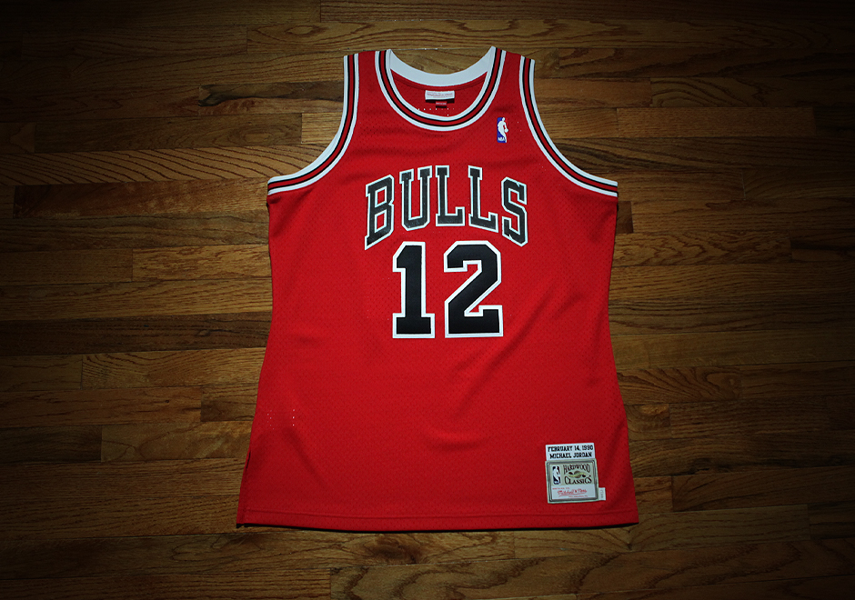 51c1b183cc5be Mitchell & Ness Releases Rare Michael Jordan #12 Bulls Jersey - Air Jordans,  Release Dates & More | JordansDaily.com