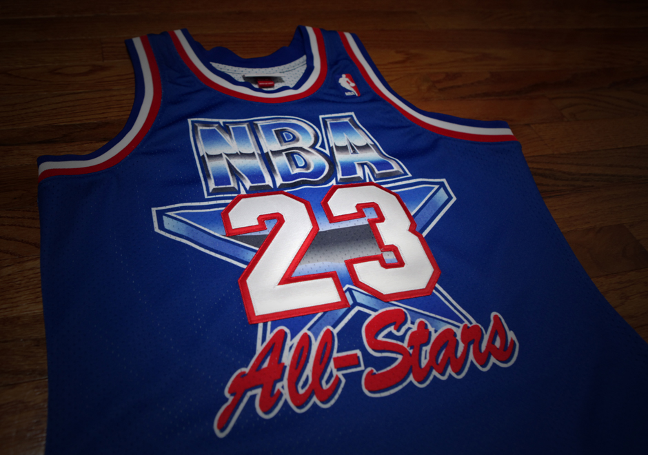 big sale b0b09 1e832 Relive History With Michael Jordan's Mitchell & Ness 1993 ...