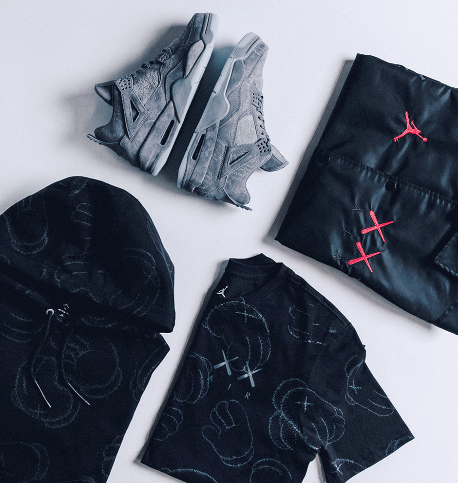 super popular 09ba5 6af1b Very good news on the KAWS x Air Jordan 4 front. The KAWS Online Store will  carry both the sneakers and the accompanying capsule collection on release  day, ...