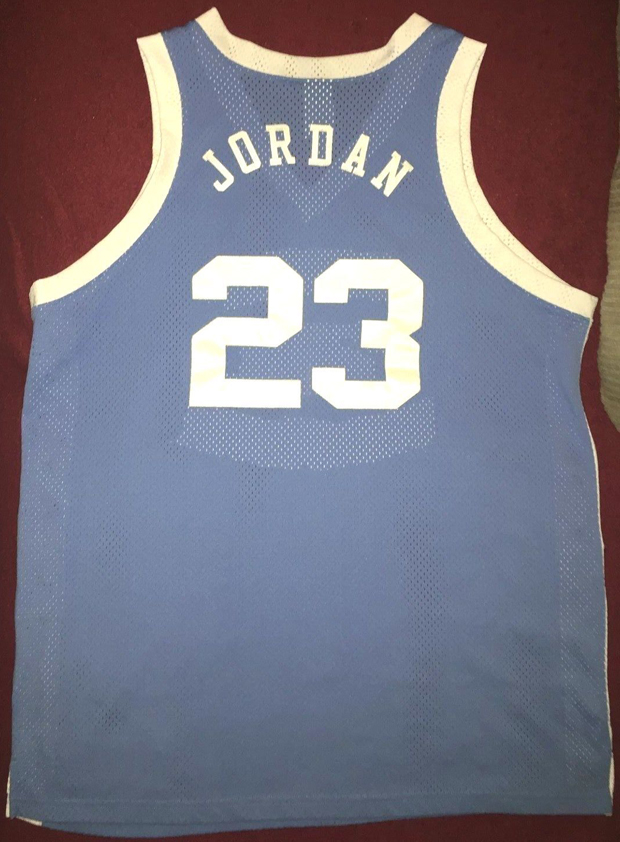 finest selection f6286 b38e2 Vintage Gear: Nike Michael Jordan UNC Jersey - Air Jordans ...