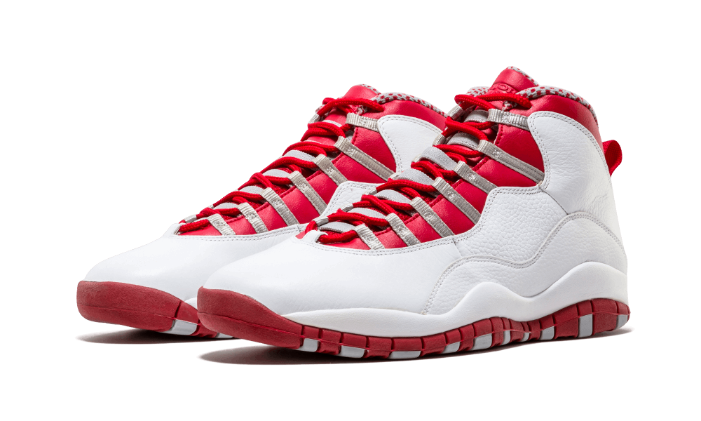 "low priced d6785 54e71 During Air Jordan 10 s retro comeback of 2005, Jordan Brand dropped this  Chicago Bulls-compatible take along with six other colorways including the  ""Steel"" ..."