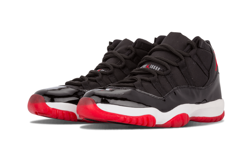"info for fcebe ebed1 Just five short years after debuting on the feet of Michael Jordan in the  1996 NBA Playoffs, Air Jordan 11 ""Bred"" hit stores in retro form."