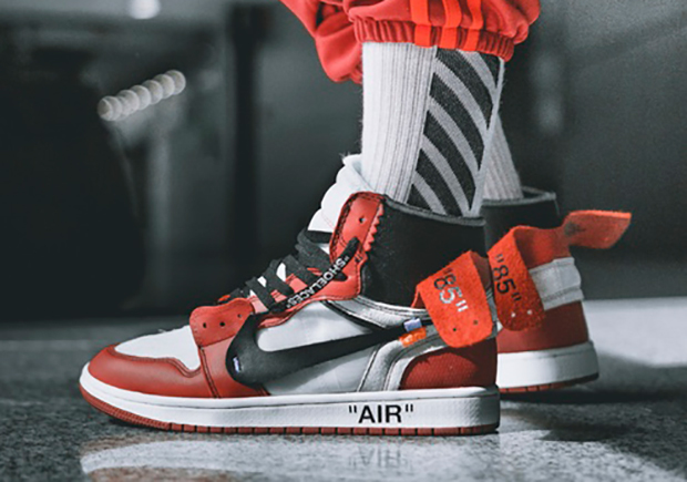 timeless design 54e4a adcde The Latest Detailed Look At Off-White x Air Jordan 1 - Air ...