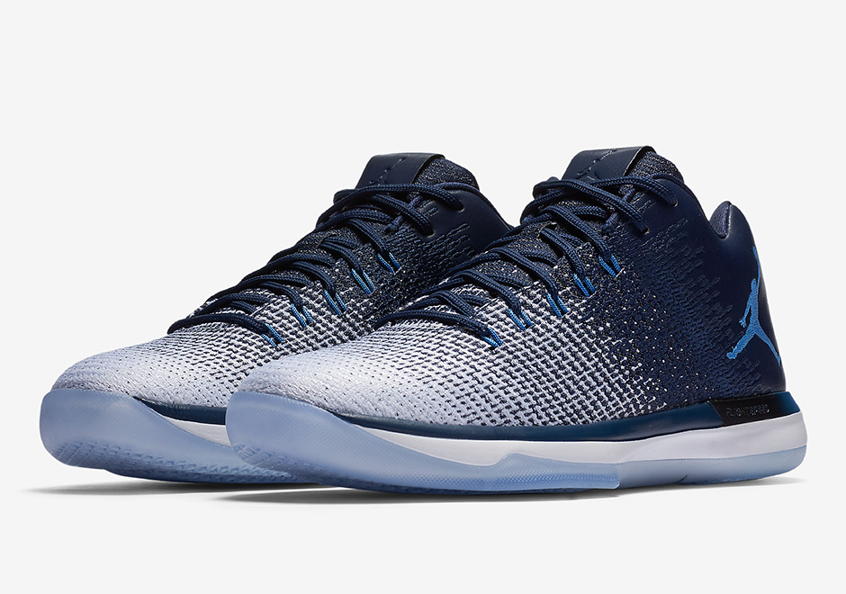 """info for cbac7 99fbe Didn t Jordan Brand just release an Air Jordan 31 Low """"UNC"""" recently  Yes,  the PE version, with logos and everything. This new Midnight Navy based  edition ..."""