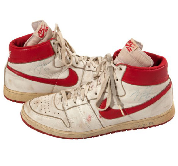 Michael Jordan's 1984 Nike Air Ship Sneakers Are Headed To Auction