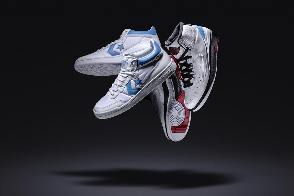New Look At The Air Jordan x Converse Pack